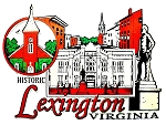 Historic Lexington Virginia Fridge Magnet