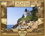 Acadia National Park Laser Engraved Wood Picture Frame