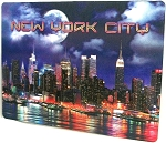New York City The City That Never Sleeps 3D Postcard