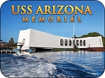 USS Arizona Memorial Fridge Magnet