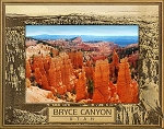 Bryce Canyon National Park Laser Engraved Wood Picture Frame