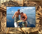 Bass Fishing Laser Engraved Wood Picture Frame