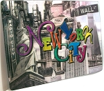 New York City Montage 3D Postcard