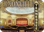 Tennessee Theatre in Knoxville Fridge Magnet