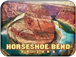 Horseshoe Bend Arizona Fridge Magnet