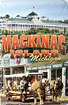 Mackinac Island Michigan Playing Cards