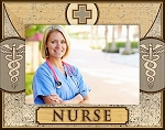 Nurse Laser Engraved Wood Picture Frame (5 x 7)