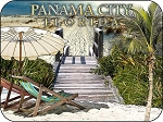 Panama City Florida Beach Scene Fridge Magnet