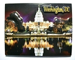 The White House at Night Washington DC Highlight Fridge Magnet Design 10