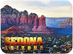 Sedona Arizona Canyon View Fridge Magnet