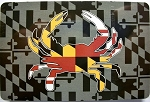Maryland Flag with Crab Design Souvenir Playing Cards Design 10