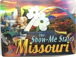 Missouri the Show Me State 3D Postcard