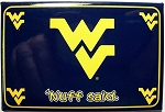 West Virginia Mountaineer's Nuff Said Fridge Magnet