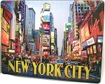New York City Times Square 3D Postcard