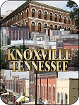 Knoxville Tennessee Downtown Fridge Magnet