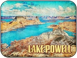 Lake Powell Arizona Fridge Magnet