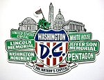 Washington D.C. Street Signs Fridge Magnet Design 27