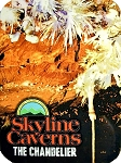 Skyline Caverns The Chandelier Photo Fridge Magnet