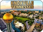 Knoxville Tennessee Montage Fridge Magnet
