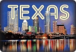 Austin Texas 3D Fridge Magnet