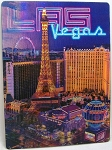 Las Vegas Paris Ballys High Roller 3D Postcard