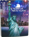 New York City Statue of Liberty 3D Postcard
