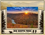 Big South Fork National Park Laser Engraved Wood Picture Frame (5 x 7)