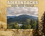 Adirondacks Rail Bike Trails Laser Engraved Wood Picture Frame (5 x 7)