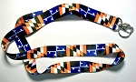 Maryland Orange and Purple Flag Design Souvenir Lanyard Design 10