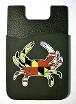 Maryland Crab Cell Phone Card Holder