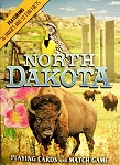 North Dakota Souvenir Playing Cards