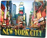 New York City Times Square Jumbo 3D Fridge Magnet