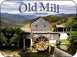 The Old Mill Tennessee Fridge Magnet