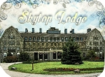 Old Skytop Lodge Pennsylvania Photo Fridge Magnet