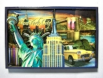 New York City Signature Montage Fridge Magnet Design 27