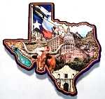 Texas State Collage Fridge Magnet Design 26