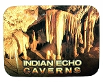 Indian Echo Caverns Photo Fridge Magnet