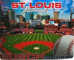 St Louis Busch Stadium Jumbo 3D Fridge Magnet