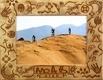 Moab Utah Mix Up Laser Engraved Wood Picture Frame