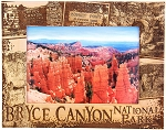 Bryce Canyon National Park Laser Engraved Wood Picture Frame (5 x 7)