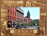 Holyoke Massachusetts Laser Engraved Wood Picture Frame (5 x 7)