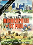 Minneapolis-St. Paul Souvenir Playing Cards Design 1