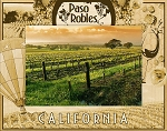 Paso Robles California Laser Engraved Wood Picture Frame (5 x 7)