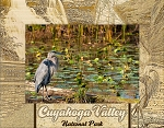 Cuyahoga Valley National Park Laser Engraved Wood Picture Frame