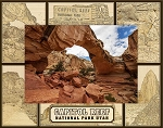 Capitol Reef National Park Utah Laser Engraved Wood Picture Frame