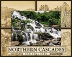 Northern Cascades National Park Laser Engraved Wood Picture Frame