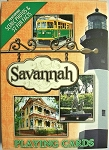 Savannah Georgia Souvenir Playing Cards