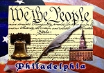 Philadelphia We the People Souvenir Playing Cards
