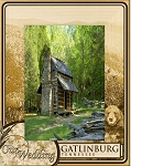 Our Wedding Gatlinburg Tennessee with Bear Laser Engraved Wood Picture Frame