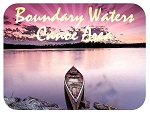The Boundary Waters Canoe Area Fridge Magnet